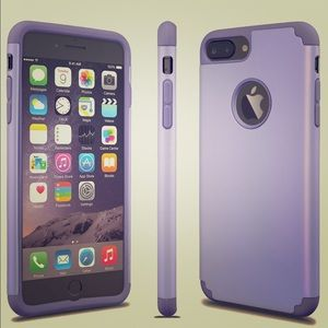 Other - NWT IPHONE 7 Plus phone case lavender/purple